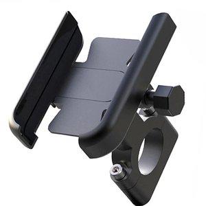 "Aluminum Alloy Bicycle Bike Phone Holder Motorcycle Handlebar Mobilephone Mount for 4-7"" Smart Phone Motorbike Accessories"