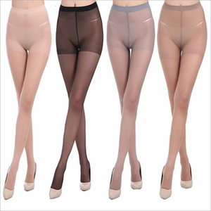 Silk Stockings Women Clothes Summer Thin Leggings Sheer Pantyhose Sexy Tights Slim Super Elastic Magical Panties Lingerie Long Socks B5376