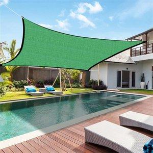 Shade Outdoor Awning Swimming Pool Polypropylene Garden Rain Tarp Waterproof Tent