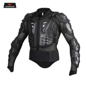 Motorcycle Hard Armor Jacket Men Full Body Protector Motocross Riding Protective Gear Chest Shoulder Protection