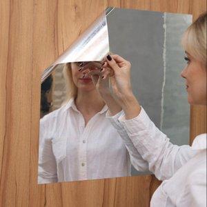 Soft Mirror Sticker Full Body Practice Haha Self-Adhesive Wall Stickers Handmade Mirrors
