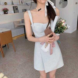 Ван Хонс Teng Yujia Kendou Supender юбка с тонкой талией и ягодицами ~