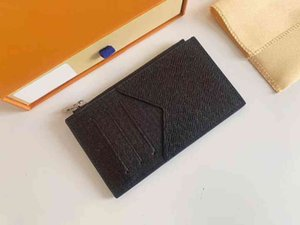 Men Women Fashion Classic Casual Credit Card Holder Leather Ultra Slim Wallet Packet Bag