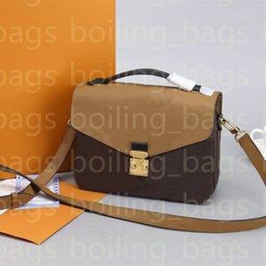 Bag Luxurys дизайнеры Metis женщин модныйВуиттон WaleetShourder Shipthandbag Mommy Messenger кошельки сумочки Vuitton сумки сумки кошелек