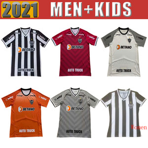 Atletico Mineiro Soccer Jerseys 21 22 Sasha Vargas M.zaracho Jersey di calcio GUGA KENO I.RABELLO D. TARDELLI Uniformi Maniche corte Camisa de Galo 2021 Top