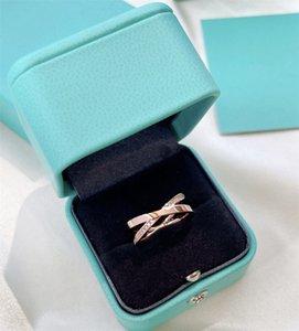 Luxury Womens Ring Rose Gold Fashion Ring Brand High Quality Luxurys Mens Diamond Rings Womens Designer Jewelry 678