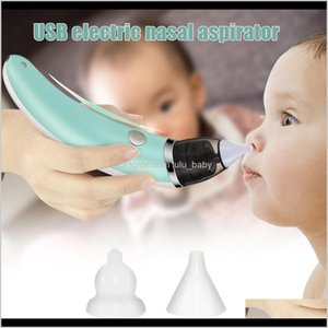 Aspirators Electric Baby Nasal Aspirator Snot Sucker Nose Mucus Boogies Vacuum Cleaner For Infant Kids Yh17 Lj201026 2R4Oj Dtjfc