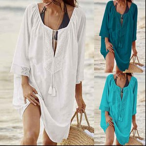 Summer Women Cover Womens Dress Up Sexy Beach Swimsuit Chiffon Short Gold thing Suit tunic