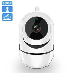Wifi IP Camera 1080P FHD PTZ Auto Tracking Home Security Camera Night Vision Two Way Audio Wireless CCTV Surveillance Cameras H0901