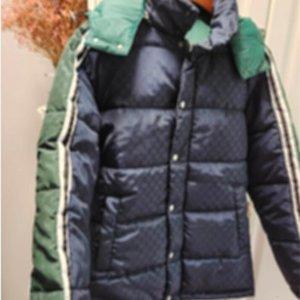 20FW Adam Tasarımcılar Giysi Ceketler Cepler Mektup Yan Pamuk Ceket Erkek Kış Mont Erkekler Tasarımcılar Erkekler S Giyim Erkekler Baskı TW23
