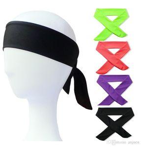 Multi Color Yoga Stirnband Lange Männer Frauen Basketball Tennis Run Hair Bands Bodybuilding Artikel Schweiß Fast Trocknung