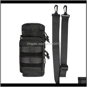 Onetigris Tactical Edc Pouch Molle Sports Bottles Sniper Water Bottle Holder Bag With Shoulder Strap 201110 Wypxr 5Dtli