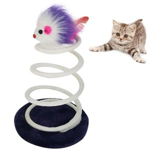 Cat Toy Interactive Plush Climbing Tree Training Mouse Toys