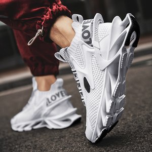Mens Shoes Summer Breathable Thin Mesh Surface Running Blade-Sharp Shoes Versatile Trendy Shoes 2021new Spring Sneakers Mens