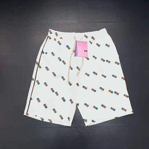 Мужские трековые шорты брюки мода стиль моды с буквами загадочные пальцы настроить спортивные брюки короткие уличные варианты для весеннего лета пляжная одежда