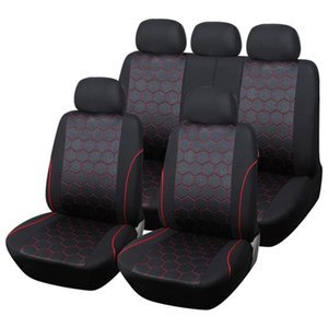 Standard Car Seat Covers Soccer Ball Style Automobile Cover Universal Auto Fit Most Cars Protector