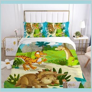 Bedding Sets Supplies Home Textiles & Garden Kids Cartoon Set For Children Baby Crib Boys Duvet Cover Pillowcase Blanket Quilt 100X120