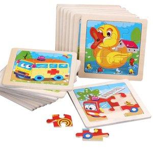 الألغاز الصانع تخصيص الأطفال الخشبية الكرتون رياض الأطفال التعليم المبكر لغز التفكير المعرفي التنوير لعبة صغيرة