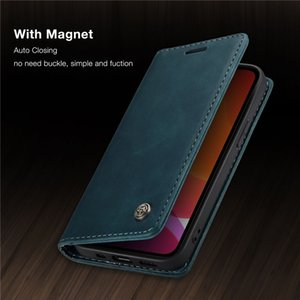 CaseMe Original Retro Magnetic Card Wallet Phone Cases For iPhone 12 Mini 11 Pro XS Max X XR 7 8 6 6S Plus SE