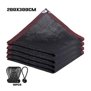Shade Plant Cover Flowers Home Garden Barn Greenhouse With Grommets UV Resistant Yard 90% Sunblock Screen Mesh Anti Aging Cloth