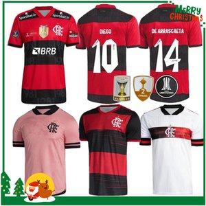 21 22 Flamengo Jersey 2021 2022 Guerrero Diego Vinicius JR Futbol Formaları Gabriel B Spor Futbol Yetişkin Erkekler Ve Kadın Gömlek
