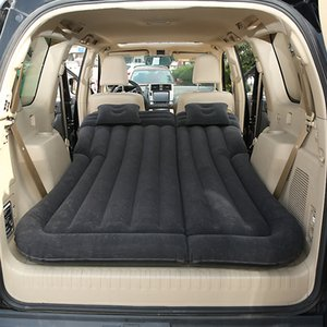 Car Inflatable Bed Air Mattress Universal SUV Car Travel Sleeping Pad Outdoor Camping Mat Child Rear Exhaust Pad Rear Seat