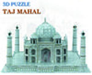 Creative DIY 3D Wooden Jigsaw Puzzle Model - Taj Mahal
