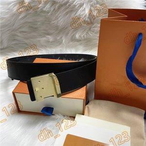 Мода роскошный пояс европейской дизайнерской буквы пряжки ремни 2.0 - 3,8 см. Ширина для мужчин и женщин Классический ремень пояс с коробкой