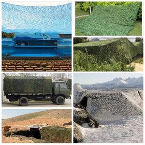 Shade Camouflage Net Outdoor Waterproof Oxford Portable Awning Cover Hidden Car Garden Decoration Camping