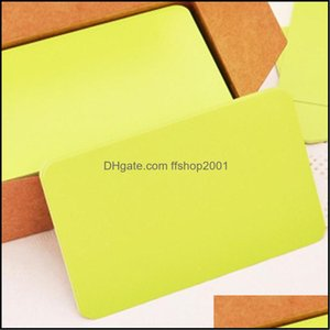 Event Festive Supplies Home & Garden100Pcs Vintage Blank Card Diy Greeting Cards Graffiti Word Wedding Party Gift Thick Kraft Paper Postcard