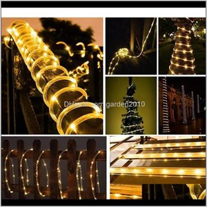 1040M Led Strip Outdoor Street Garland Safe Voltage Rope String Lights Decorations For House Garden Fence Christmas Tree 4Qqnf Hmbwk