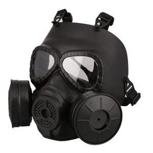 2021M40 Double Fan Gas Mask CS Filter Paintball Helmet Tactical Army Capacetes De Motociclista Guard FMA Cosplay