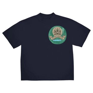 Herren T-Shirt Kanye Jesus ist König Jamaica Seal T-Shirt High Street Kurzarm Top Casual Mode Männliche Kleidung
