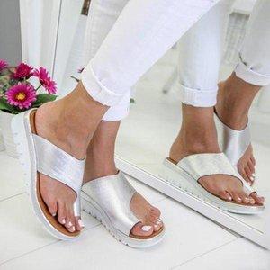 Vente chaude-Femmes Sandales Sandales Été Sandales plates Femmes Flip Flop Chaussures de mode Léopard Dames Outdoor Slipper Star Star Même style Trend Nouveau Top
