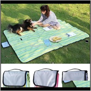 Red White Plaid Outdoor Foldable Waterproof Picnic Mat Fashion Thicken Pad Breathable Soft Portable Camping Travel Beach Blanket Pads Csd3D