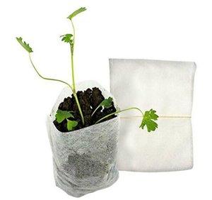 Patio Lawn 100 шт. / Упаковка садовые принадлежности Охрана окружающей среды Неплетенные детские горшки Sways Rising Bags RH3009