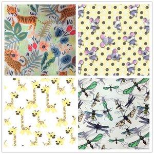 Waterproof digital printing cloth suitable for backpack handbag fabrics tablecloth curtain pillow DIY handicraft sewing su1