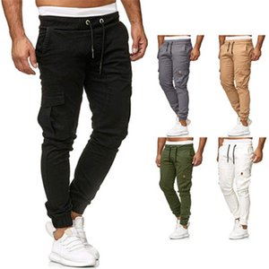 Gym Clothing L112 Men's Overalls Fitness Sports Outdoor Running Leisure Slim Straight Breathable Quick-drying Trousers for Men