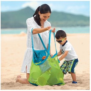 Large Mesh Beach Bag, Family Shell Bag Toys Storage Bags Stay Away from Sand & Water, Perfect for Holding Balls, or Other Items
