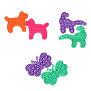 Push Bubble Dog Dragon Butterfly Fidget Toys Autism Special Needs Sensory Anti-Stress Relief Toy Game Gift for Kids