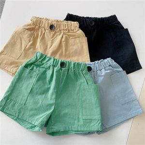 Shorts Children Summer Girls Wear Cotton Boys Pants Casual Kids Baby Clothes 1-6Y B4451