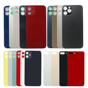 For iPhone 12 11 8 plus X XS MAX Cell Phone Housings Case Replacement Back Cover With Stickers