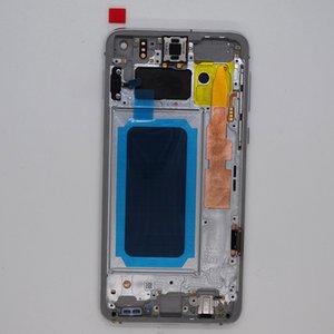 Samsung Galaxy S10E G970 Ekran OEM AMOLED Ekran Dokunmatik Paneller Çerçeve