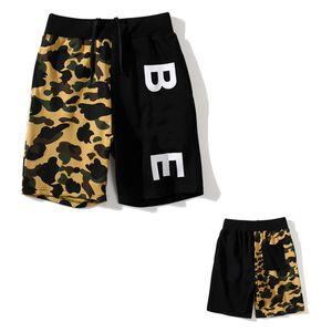 2021 Kadın Şort Erkekler Rahat Yaz Pantolon Mektup Baskı Bayan Üst Trendy Erkek Yüksek Kaliteli Streetwear Aydınlık Köpekbalığı Kutusu