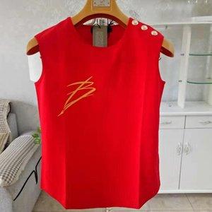Мода летние женщины сплошной цвет футболки без рукавов хлопок удобные повседневные топ высококачественные женские одежда S-XL