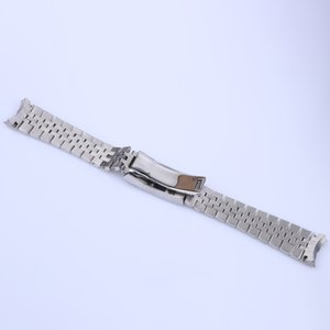 With 21mm Luxury 316L 41mm Steel DateJust End Curved Screw Links For Bracelet 36m Stainless Oyster Clasp Strap Master II 20mm Jubilee S Onhb