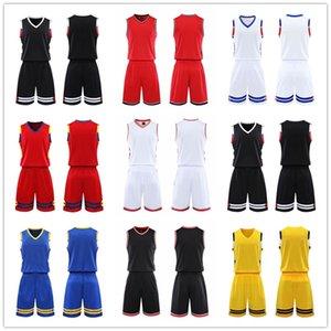 ¡Calidad superior! 2021 Equipo de baloncesto Jersey Men Pantaloncini Da Basket Sportswear Ropa de correr Blanco Negro rojo Púrpura verde 10