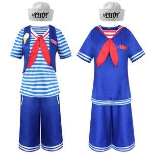 Halloween strange story 3cos ice cream clerk Navy cloth men and women show Cosplay uniforms