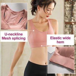 Breathable Women Push Up Yoga Sport Bras Elastic Adjustable Sports Top Wear Running Workout Gym Clothes Yoga Bra Female Fashion wmtTJz
