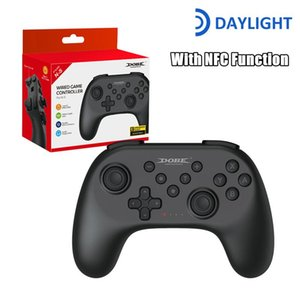 Game Controllers & Joysticks Bluetooth-Compatible Gamepad For N-Switch NS-Switch Console Wireless Video With NFC Type C Switch PC